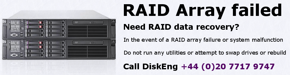 RAID system failures pose a significant data loss risk